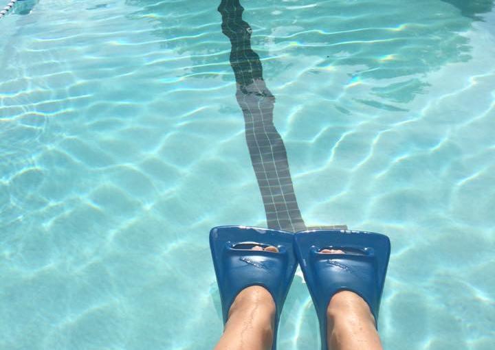 Swimming and sports as mindful movementmeditation.