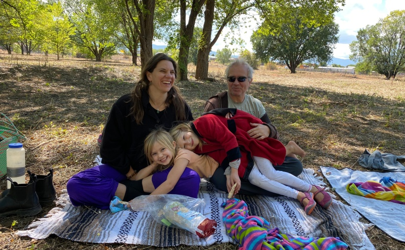 Families Meditate Together